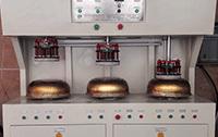 铜锅三工位复底钎焊预热